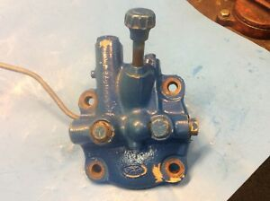 Ford Tractor Hydraulic Flow Control Valve 2000 3000 4000