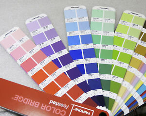 Pantone Bridge Guide Solid To Cmyk 4 Color Coated Large Edition Cc