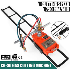 Torch Track Burner Cg 30 Gas Cutting Machine Durable Metallurgy Metalworking