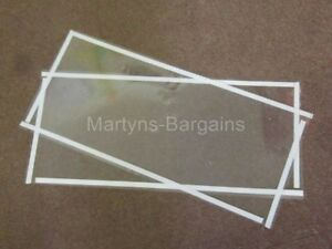 2 Replacement Protection Screens To Protect Glass On Sbc990 Sand Blast Cabinet