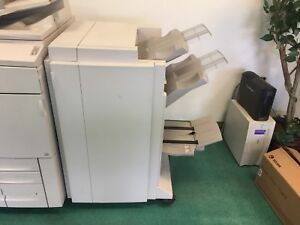 Xerox Dc 252 Professional Finisher Hole Punch Booklet Maker