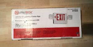 Led Exit emergency Combo Sign