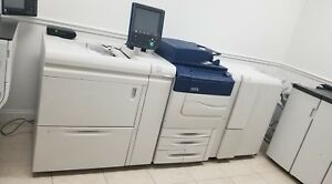 Xerox Color C70 Digital Press Production Printer Copier Scanner 75ppm 226k C60