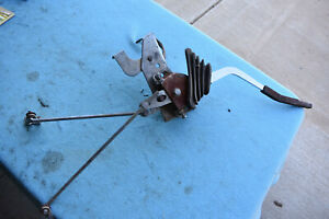 Sparkomatic 3 Speed Shifter With Linkage As Shown