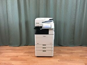 Canon Imagerunner Advance 4551i Black White Copier Printer Scanner Fax Low 44k