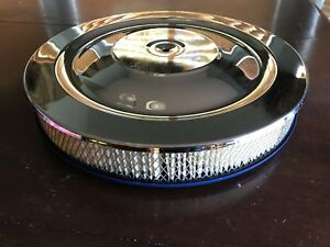 Chrome Air Cleaner Fits Ford 260 289 302 351w 351c 360 390 400 427 428 429 460