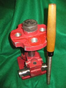 LYMAN ALL-AMERICAN TURRET PRESS 4 HOLE USED GREAT CONDITION