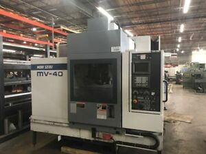Mori seiki Cnc Vertical Machining Center Mv 40b 17 X 43 W Fanuc Control 1994