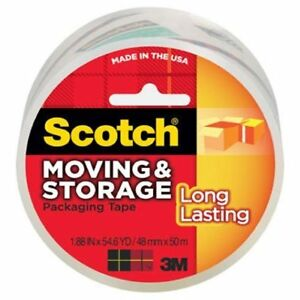 Packing Tape Clr 54 6yd pkg Of 10