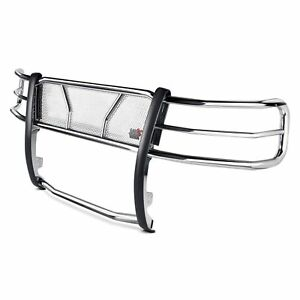 Westin Hdx Polished Grille Guard For 15 18 Chevy Silverado 2500hd 3500hd