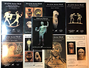 Ancient Art Antiquities Royal Athena Galleries Greek Roman 9 Catalogs Reference