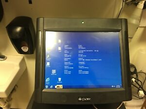 Pos Cash Register Touch Screen Par 6000 With Cash Drawer