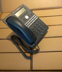 Lot Of 10 Refurbished Snom 720 Poe Voip Business Phones 12 Sip Lines W Stands