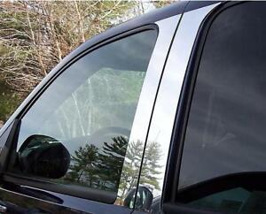 Chrome Pillar Post Fits Ford Explorer Sport Trac 2001 2005 Mirror Stainless Set4