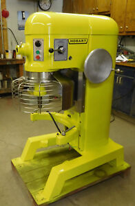 Hobart 60qt Mixer With Guard New Bowl Paddle Dough hook Whip 2 Hp 1 Phase 220 Vt
