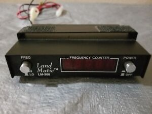 Landmatic Lm 300 5 Digit Frequency Counter