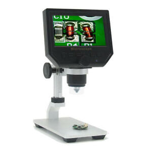 Mustool G600 Digital 1 600x 3 6mp 4 3inch Hd Lcd Display Microscope Continuous M