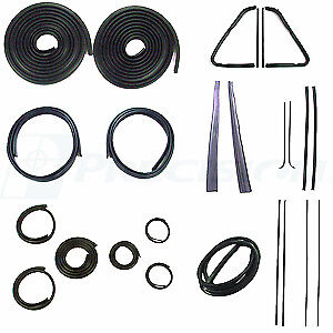 1951 1954 Chevrolet Gmc Pickup Truck Complete Weatherstrip Seal Kit