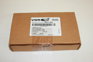 Vwr 66011 020 Vials Borosilicate Glass With Phenolic Screw Cap 0 5 Dram