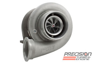 Precision Turbo Hp Cover Billet 7675 Journal Bearing V band Stainless 81 Ar