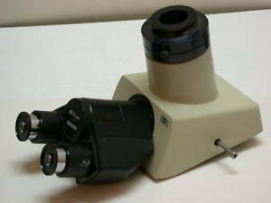 Nikon Trinocular Microscope Infrared Head With Infrared Eyepieces