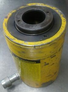 Enerpac Rch 603 Hydraulic Hollow Cylinder Jack 60 Tons 3 Stroke