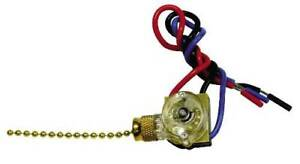 Heavy duty 2 Circuit 4 Position Pull Chain Switch Per 8 Each