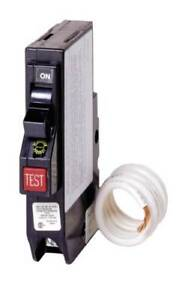Chq Series 1 pole Classified Gfci Breaker 15a Sqd