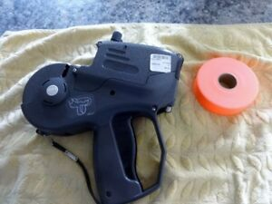 1153 Monarch Price Gun New Roller Plus New Roll Labels Used By Me