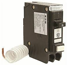 Cl Series Single Pole Classified Gfci Breaker Self test 120 240 Volt 15 Amps