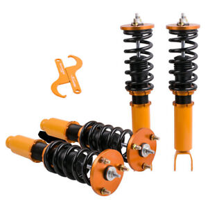 Fit Honda Accord 8th Gen 2008 2012 Coilover Struts Shocks Front X 2 Rear X 2 Set