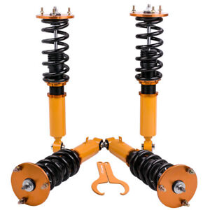 Height Adjustable Coilovers For Toyota Supra Ma70 1986 1993 Shock Absorbers