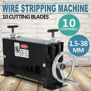Copper Wire Stripper Cable Peeling Scrap Tool Stripping Machine 1 5 38mm