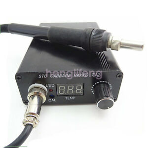 Ac 110v Digital Soldering Iron Station Temperature Controller T12 Handle