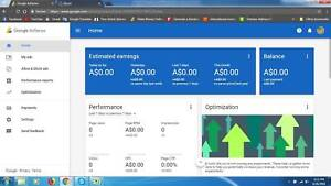Sgoogle Adsense Australia Non Hosted Account For Website With Domain