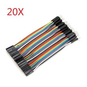 800pcs 10cm Male To Female Jumper Cable Dupont Wire For Arduino