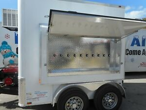Refrigerated Beer Draft Cold Service Trailer Built By Coldtogotrailers