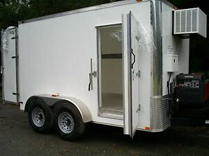 Refrigerated Walk In 0 10f Temps freezer Trailers Custom 2018 No Waiting Ready