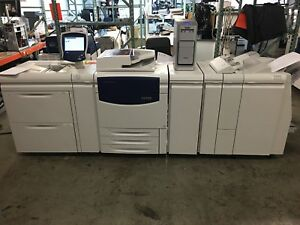 Xerox 700i Digital Color Press Full Config With Ex700i Low Meter