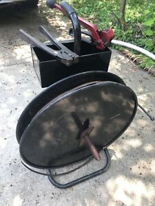 Strapping Banding Cart 1 2 Steel With Ratchet And Crimper With Strapping