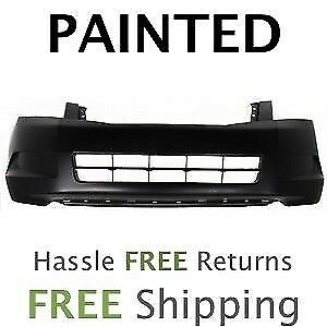 Fits 2008 2009 2010 Honda Accord Sedan 4cyl Front Bumper Cover Painted