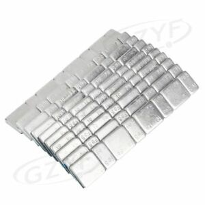 10pcs Motorcycle Metal Tire Car Wheel Balance Weight Strips For Car Truck Parts