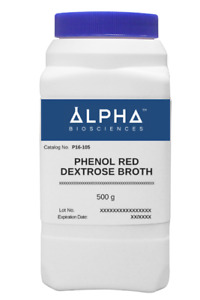 Phenol Red Dextrose Broth p16 105
