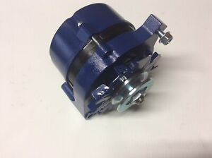 1970 77 Ford Maverick 100 Amp High Performance Alternator Powdercoated Ford Blue