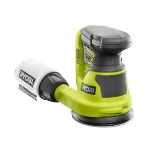 Ryobi 18-Volt Random Orbit Sander 5 In Cordless Lock-On Switch (Tool-Only)