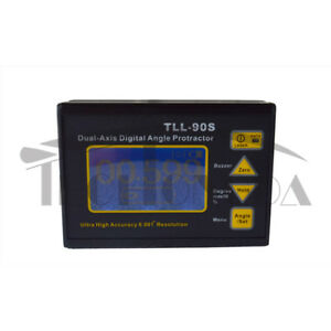 Tll 90s Angle Meter 0 005 Dual axis Digital Laser Inclinometer Protractor