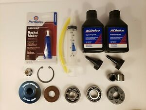 Supercharger Pulley Nosedrive Rebuild Kit Needle Bearings Toyota 3 4l 5vzfe Trd