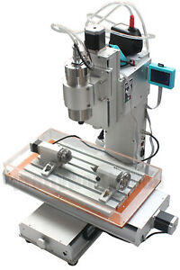1500w Cnc Router Table 4 Axis Engraving Machine High pricision Ball Screw Column
