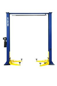 Apluslift Hw 9koh Two Post Over Head Auto Hoist Car Lift 9000 Lb Capacity