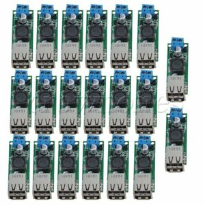 20pieces Dc 6 35v To 5v 3a Double Usb Converter Voltage Step Down Module